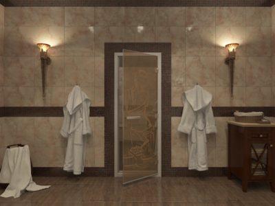Двери для хамама от производителя